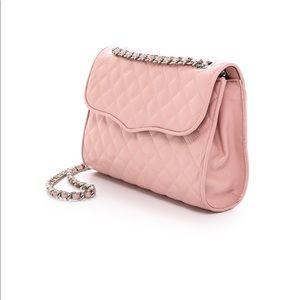 Rebecca Minkoff Women's Pink Quilted Affair Bag
